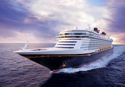 The sleek-looking Disney Dream sails from Port Canaveral, Fla., to Castaway Cay and Nassau in the Bahamas.