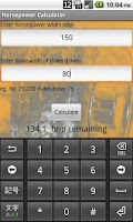 Screenshot of Horsepower Calculator