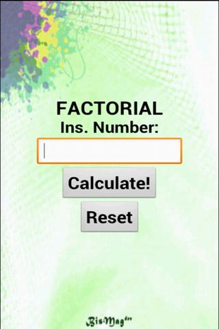 Prime Number and Factorial screenshot #5