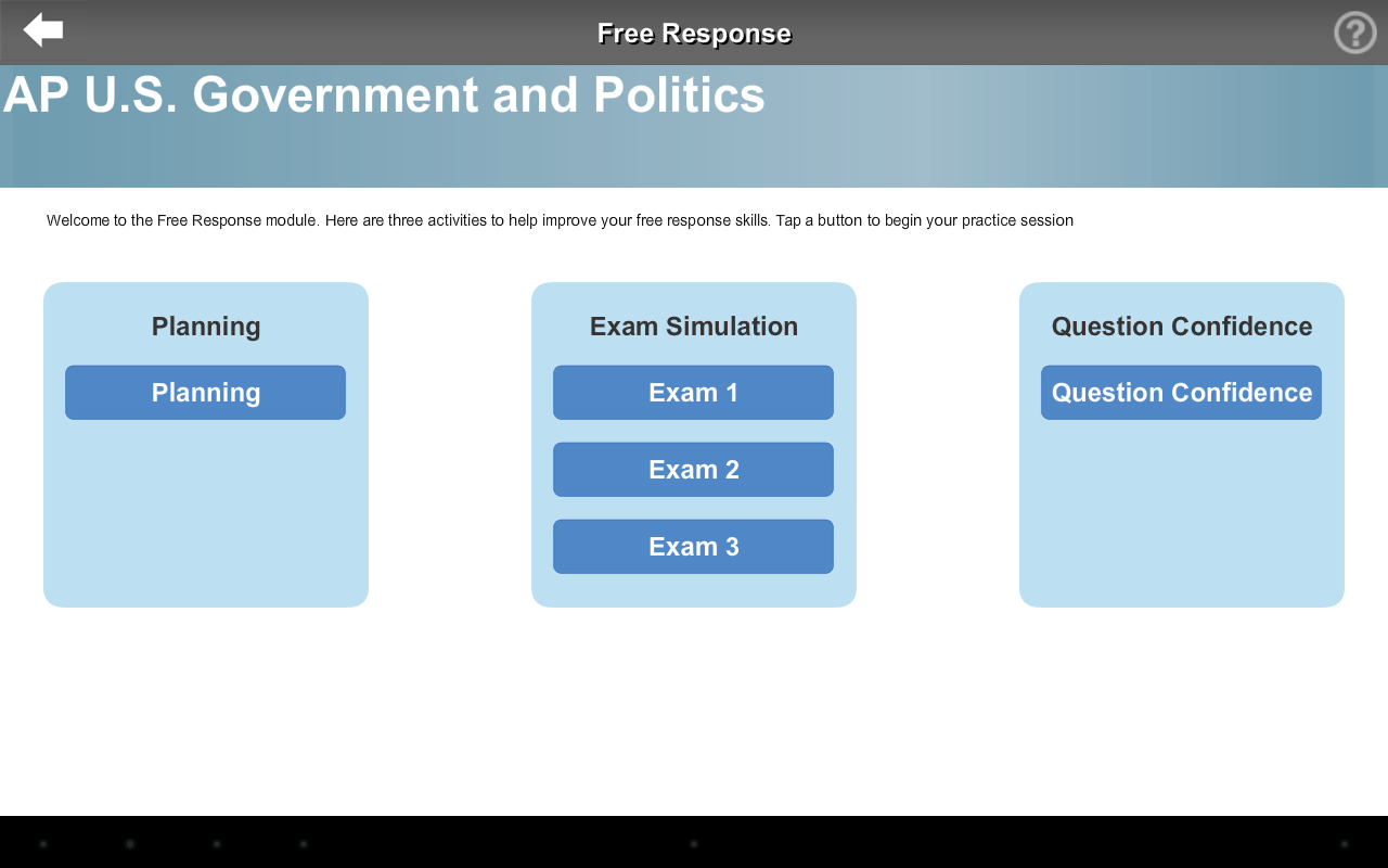 AP Exam Prep US Govt LITE- screenshot