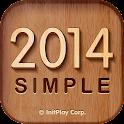 탁상달력 2014 : 심플 (위젯) icon
