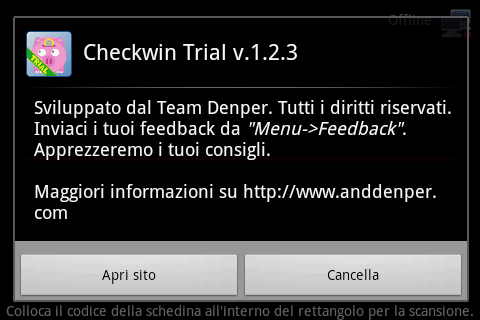 Checkwin Trial - screenshot