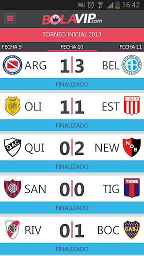 BolaVip Futbol Argentino