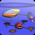 インドア ヘリコプター シミュレータ 3D Free icon