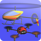 Indoor Heli Sim 3D Free icon