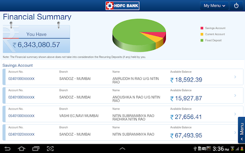 HDFC Bank Tablet 4