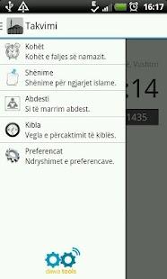 Takvimi - Shqip - screenshot thumbnail