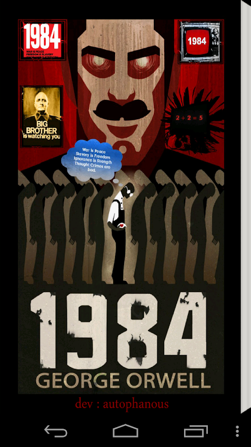 1984 george orwell conformity Custom writing essays custom written essays custom written research papers custom writing term papers george orwell's 1984 and the  in conformity with the.