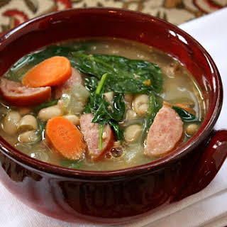 Bean and Sausage Soup.