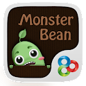 Monster Bean GO Launcher Theme icon