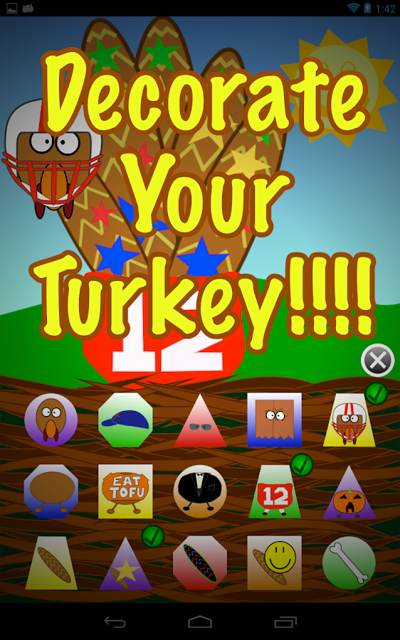 Hand Turkey Thanksgiving HD- screenshot