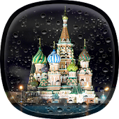 Rainy Moscow Live Wallpaper