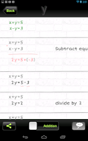 Screenshot of yHomework - Math Solver