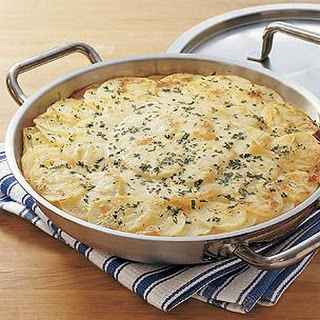 Potato and Onion Gratin