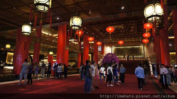 台北˙難以下結論的圓山飯店松鶴廳下午茶