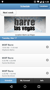 Barre Las Vegas- screenshot thumbnail