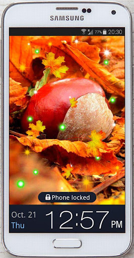 Autumn Gallery live wallpaper