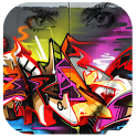 Draw graffiti icon
