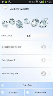Diamond Calculator free