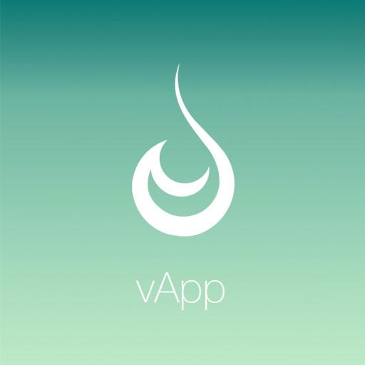 vApp - vaping, dripping, e-cig LOGO-APP點子