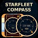 Starfleet LCARS Compass