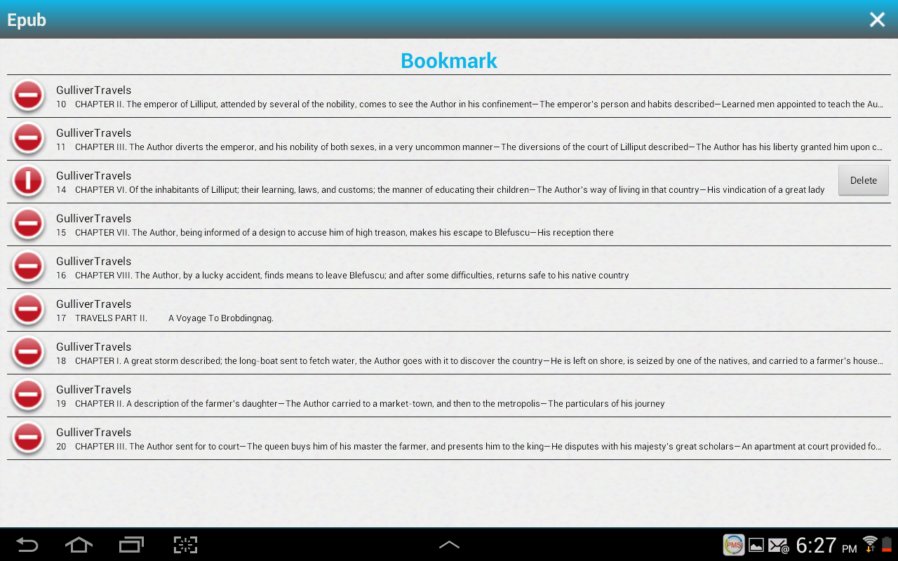 ePub3 Reader - screenshot