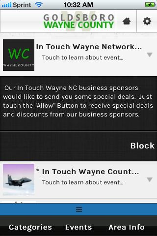 In Touch Wayne NC - screenshot