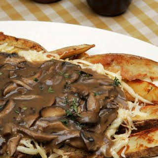 Mushroom Gravy.