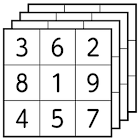 Sudoku Solver Multi Solutions icon