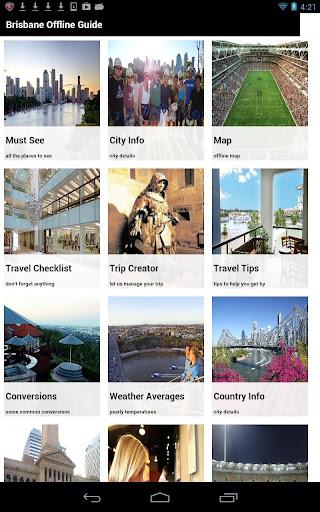 Brisbane Offline Travel Guide