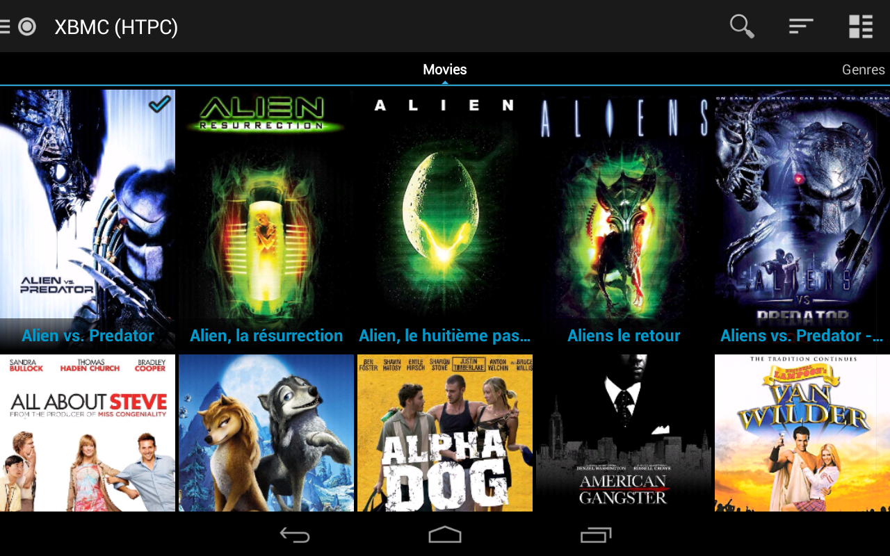 Yatse, the XBMC Remote - screenshot