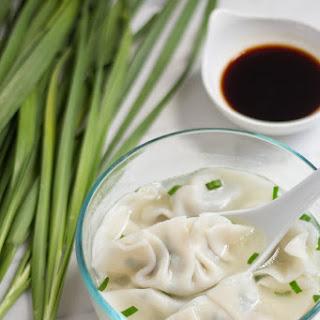 Pork and Chives Dumplings (韭菜餃子)