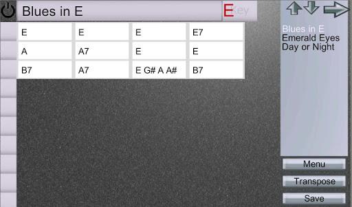 EZ Chord Chart