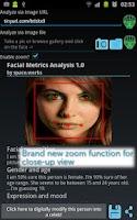 Screenshot of Facial Metrics Analysis Pro