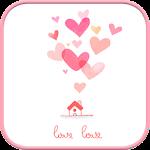 lovelove go sms theme
