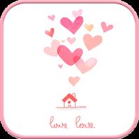 lovelove go sms theme 1.0
