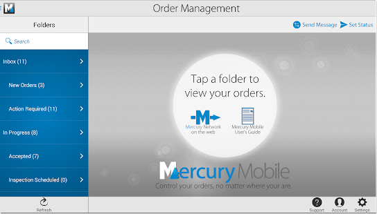 Mercury Mobile for Android- screenshot thumbnail