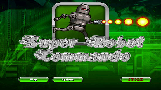 Super Robot Commando