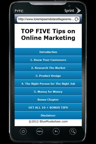 Top Free Online Marketing Tips
