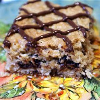 Oatmeal Cookie Bars.