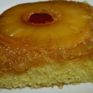 Pineapple Upside Down Cake.