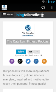 The Catz Lair: Fitness Podcast- screenshot thumbnail