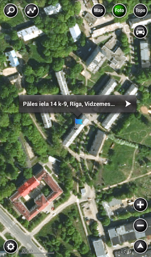 Baltic Maps - screenshot