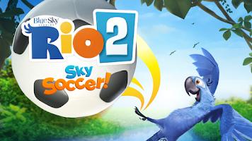 Screenshot of RIO 2 Sky Soccer!