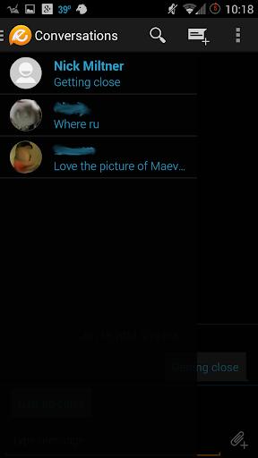 Evolve SMS - Dark Holo Free