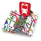 鉄道マップ 中部/地下鉄 icon
