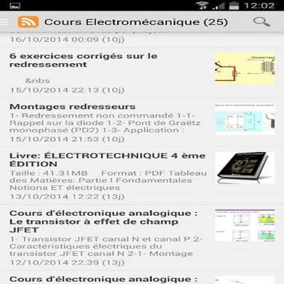 Génie Électromécanique - screenshot