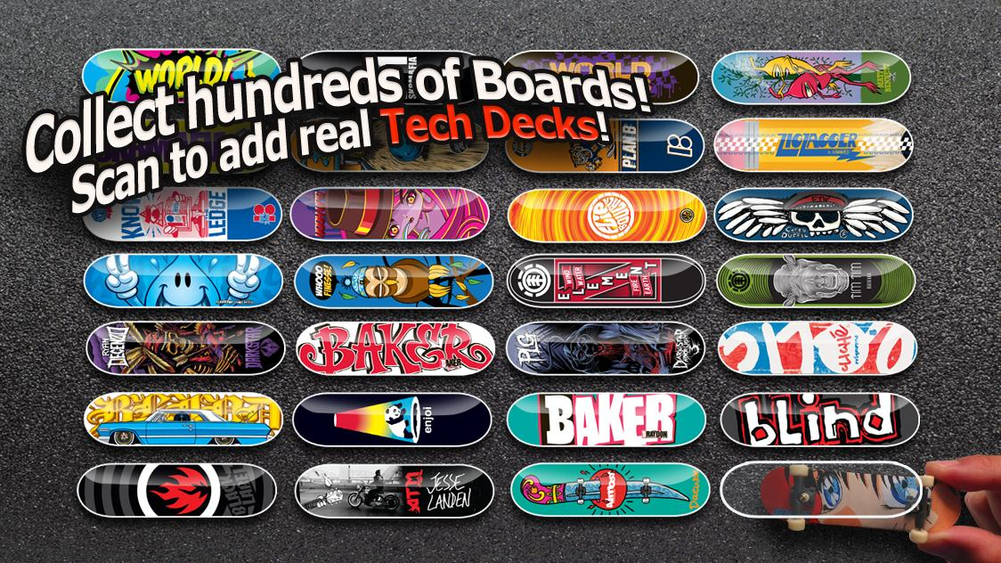 Tech Deck Skateboarding @Kids- screenshot