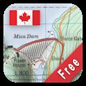 Canada Topo Maps Free logo