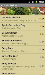 Juice Diet Recipes Screenshot 1